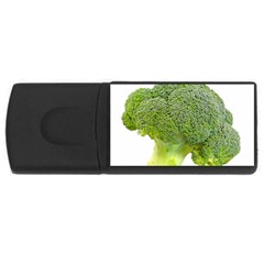 Broccoli Bunch Floret Fresh Food Usb Flash Drive Rectangular (4 Gb) by Nexatart