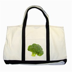 Broccoli Bunch Floret Fresh Food Two Tone Tote Bag by Nexatart