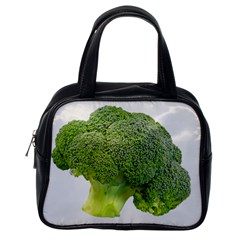 Broccoli Bunch Floret Fresh Food Classic Handbags (one Side)