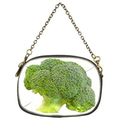 Broccoli Bunch Floret Fresh Food Chain Purses (two Sides)  by Nexatart