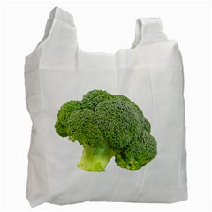 Broccoli Bunch Floret Fresh Food Recycle Bag (two Side)  by Nexatart