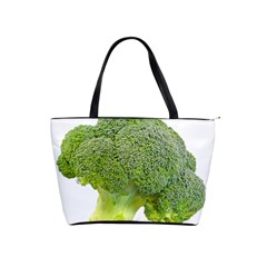 Broccoli Bunch Floret Fresh Food Shoulder Handbags by Nexatart