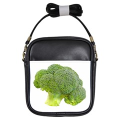 Broccoli Bunch Floret Fresh Food Girls Sling Bags by Nexatart