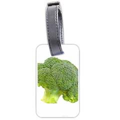 Broccoli Bunch Floret Fresh Food Luggage Tags (one Side)