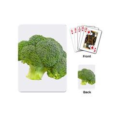 Broccoli Bunch Floret Fresh Food Playing Cards (mini)