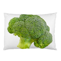 Broccoli Bunch Floret Fresh Food Pillow Case (two Sides)