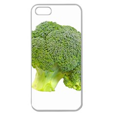 Broccoli Bunch Floret Fresh Food Apple Seamless Iphone 5 Case (clear)