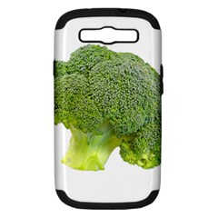 Broccoli Bunch Floret Fresh Food Samsung Galaxy S Iii Hardshell Case (pc+silicone)