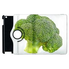 Broccoli Bunch Floret Fresh Food Apple Ipad 2 Flip 360 Case