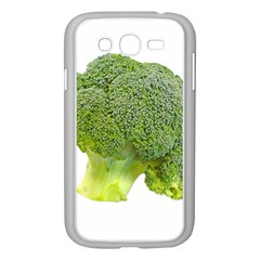 Broccoli Bunch Floret Fresh Food Samsung Galaxy Grand Duos I9082 Case (white)