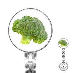 Broccoli Bunch Floret Fresh Food Stainless Steel Nurses Watch