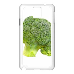 Broccoli Bunch Floret Fresh Food Samsung Galaxy Note 3 N9005 Case (white)