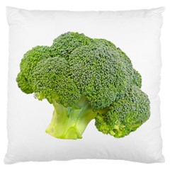 Broccoli Bunch Floret Fresh Food Standard Flano Cushion Case (two Sides) by Nexatart