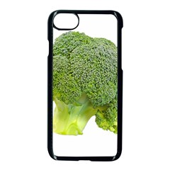 Broccoli Bunch Floret Fresh Food Apple Iphone 7 Seamless Case (black) by Nexatart