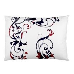Scroll Border Swirls Abstract Pillow Case