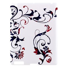 Scroll Border Swirls Abstract Apple Ipad 3/4 Hardshell Case by Nexatart