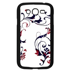 Scroll Border Swirls Abstract Samsung Galaxy Grand Duos I9082 Case (black)