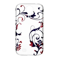 Scroll Border Swirls Abstract Samsung Galaxy S4 Classic Hardshell Case (pc+silicone)