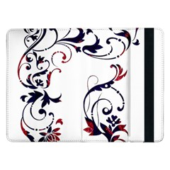 Scroll Border Swirls Abstract Samsung Galaxy Tab Pro 12 2  Flip Case