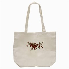 Scrapbook Element Nature Flowers Tote Bag (cream) by Nexatart