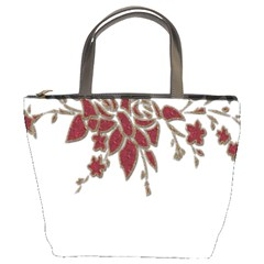 Scrapbook Element Nature Flowers Bucket Bags by Nexatart