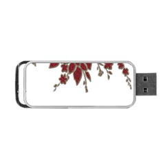 Scrapbook Element Nature Flowers Portable Usb Flash (one Side) by Nexatart