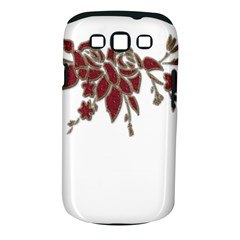 Scrapbook Element Nature Flowers Samsung Galaxy S Iii Classic Hardshell Case (pc+silicone) by Nexatart
