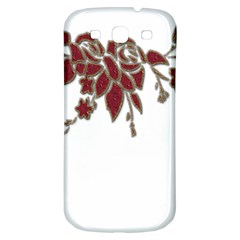 Scrapbook Element Nature Flowers Samsung Galaxy S3 S Iii Classic Hardshell Back Case by Nexatart