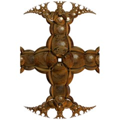 Cross Golden Cross Design 3d 5 5  X 8 5  Notebooks by Nexatart