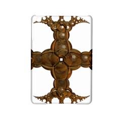 Cross Golden Cross Design 3d Ipad Mini 2 Hardshell Cases by Nexatart