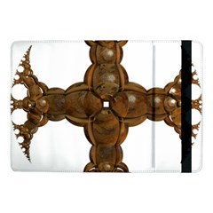 Cross Golden Cross Design 3d Samsung Galaxy Tab Pro 10 1  Flip Case by Nexatart