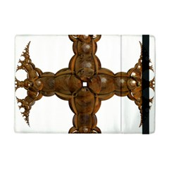 Cross Golden Cross Design 3d Ipad Mini 2 Flip Cases