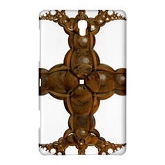 Cross Golden Cross Design 3d Samsung Galaxy Tab S (8 4 ) Hardshell Case