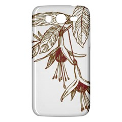 Floral Spray Gold And Red Pretty Samsung Galaxy Mega 5 8 I9152 Hardshell Case  by Nexatart