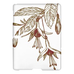 Floral Spray Gold And Red Pretty Samsung Galaxy Tab S (10 5 ) Hardshell Case