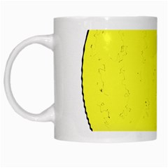 Tennis Ball Ball Sport Fitness White Mugs by Nexatart