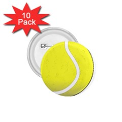 Tennis Ball Ball Sport Fitness 1 75  Buttons (10 Pack) by Nexatart