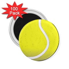Tennis Ball Ball Sport Fitness 2 25  Magnets (100 Pack)  by Nexatart