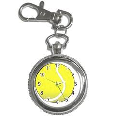 Tennis Ball Ball Sport Fitness Key Chain Watches