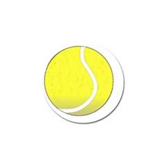 Tennis Ball Ball Sport Fitness Golf Ball Marker (4 pack)