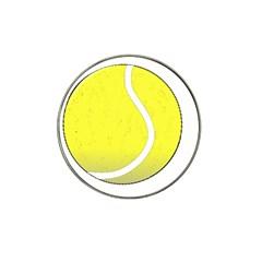 Tennis Ball Ball Sport Fitness Hat Clip Ball Marker by Nexatart