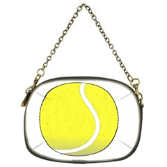 Tennis Ball Ball Sport Fitness Chain Purses (one Side)  by Nexatart
