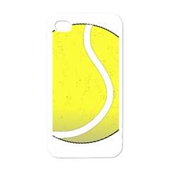 Tennis Ball Ball Sport Fitness Apple Iphone 4 Case (white) by Nexatart