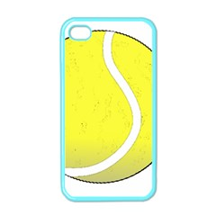 Tennis Ball Ball Sport Fitness Apple Iphone 4 Case (color) by Nexatart