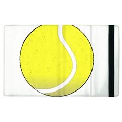 Tennis Ball Ball Sport Fitness Apple Ipad 2 Flip Case