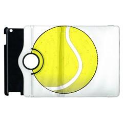 Tennis Ball Ball Sport Fitness Apple Ipad 2 Flip 360 Case