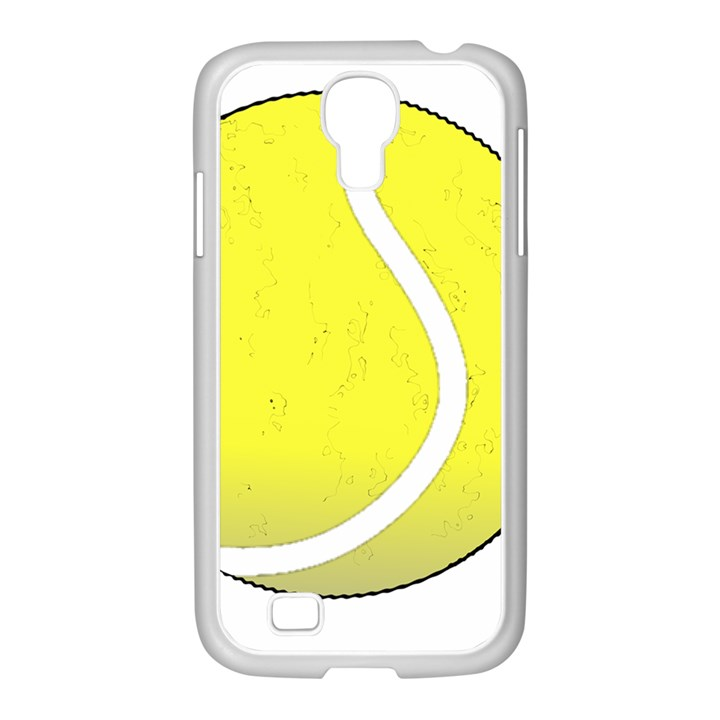 Tennis Ball Ball Sport Fitness Samsung GALAXY S4 I9500/ I9505 Case (White)