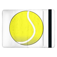 Tennis Ball Ball Sport Fitness Samsung Galaxy Tab Pro 12 2  Flip Case by Nexatart