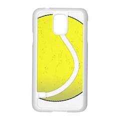 Tennis Ball Ball Sport Fitness Samsung Galaxy S5 Case (white)