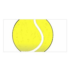 Tennis Ball Ball Sport Fitness Satin Shawl